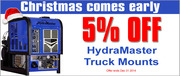 Truckmount Cleaning Supplies Inc. Christmas 2014 Promotions