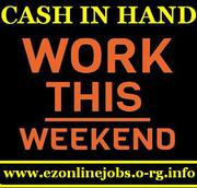 Weekend CASH Paying Jobs (Apply Today)