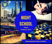 Night School Classes at Mississauga Private High School!