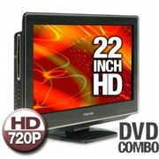 22LV610U 22-Inch 720p LCD TV with Built in DVD Player,  Black