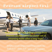 Airport taxi in Pearson - pick up and drop off