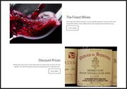 Famous wines at discounted prices.
