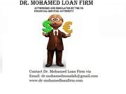 Dr. Mohamed Loan Firm. We re creating better loans for better lives.