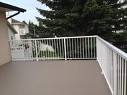 Selling $38.0/LF quality welded aluminum railing supply and install. Q