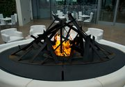 high end fireplace