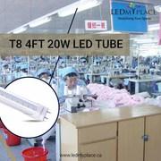 Purchase T8 4ft 20W LED Tube for flicker Free Lighting