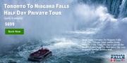 Toronto To Niagara Falls Half Day Private Tour