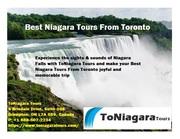 Best Niagara Tours From Toronto